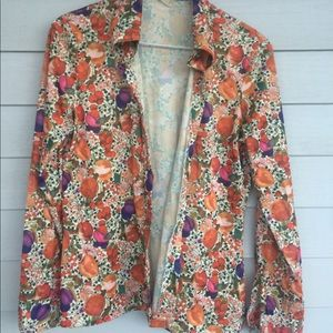 Tops - Vintage 1970s fruit shirt